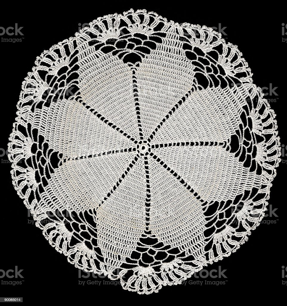 lace doily royalty-free stock photo