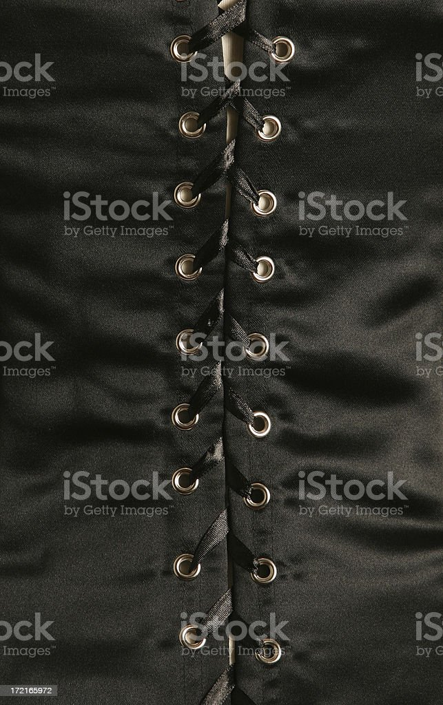 Lace Up Detail royalty-free stock photo