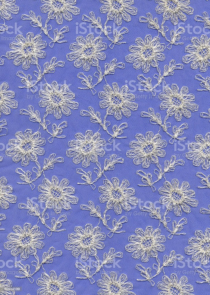 lace with flowers royalty-free stock photo