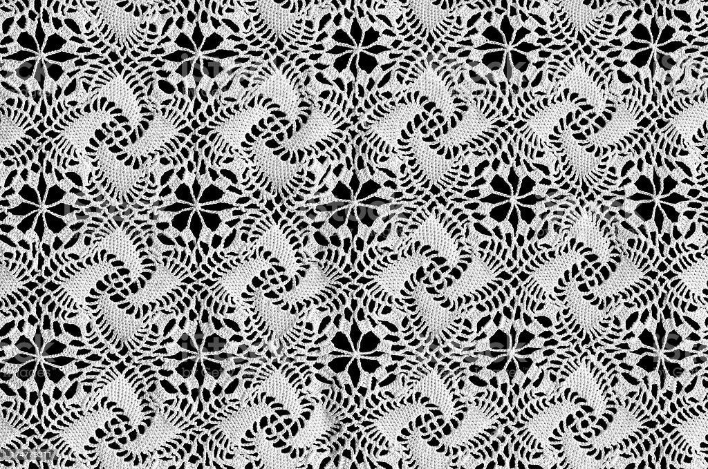 Lacelike Tablecloth stock photo