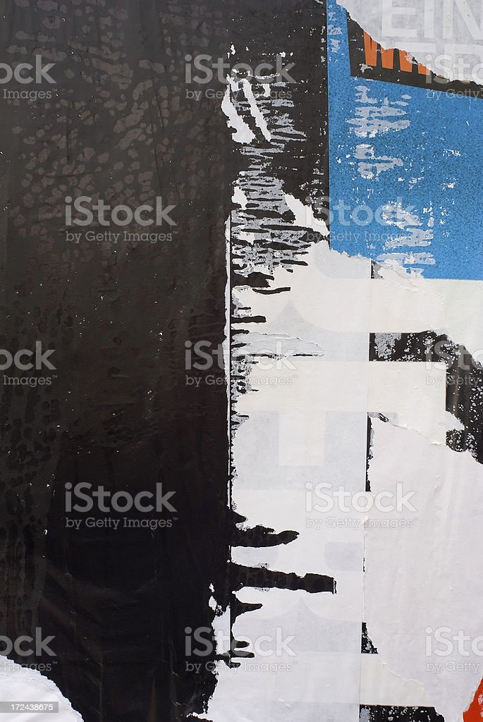 Lacerated Posters stock photo