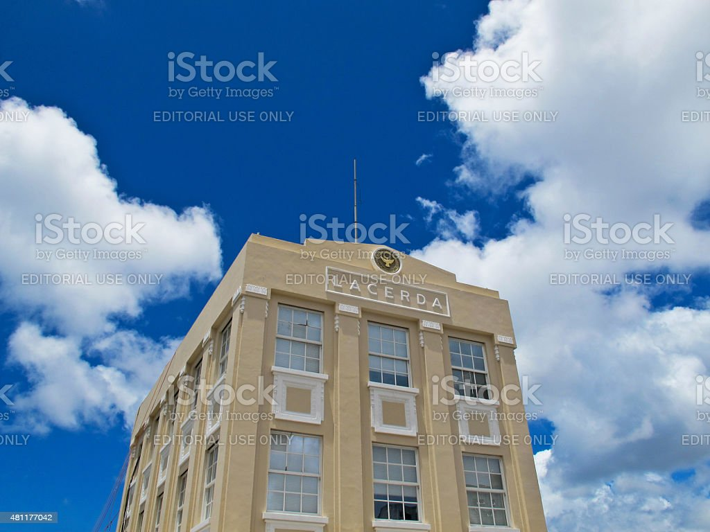 Lacerda Elevator Building in Salvador Bahia Brazil stock photo