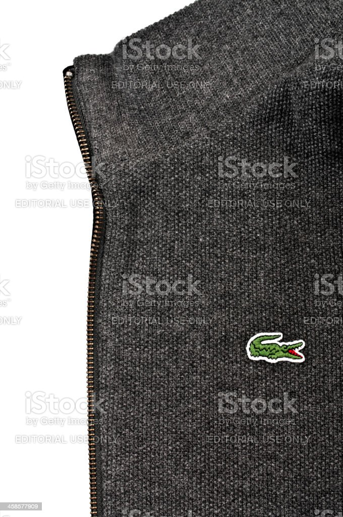 Lacoste Coat stock photo
