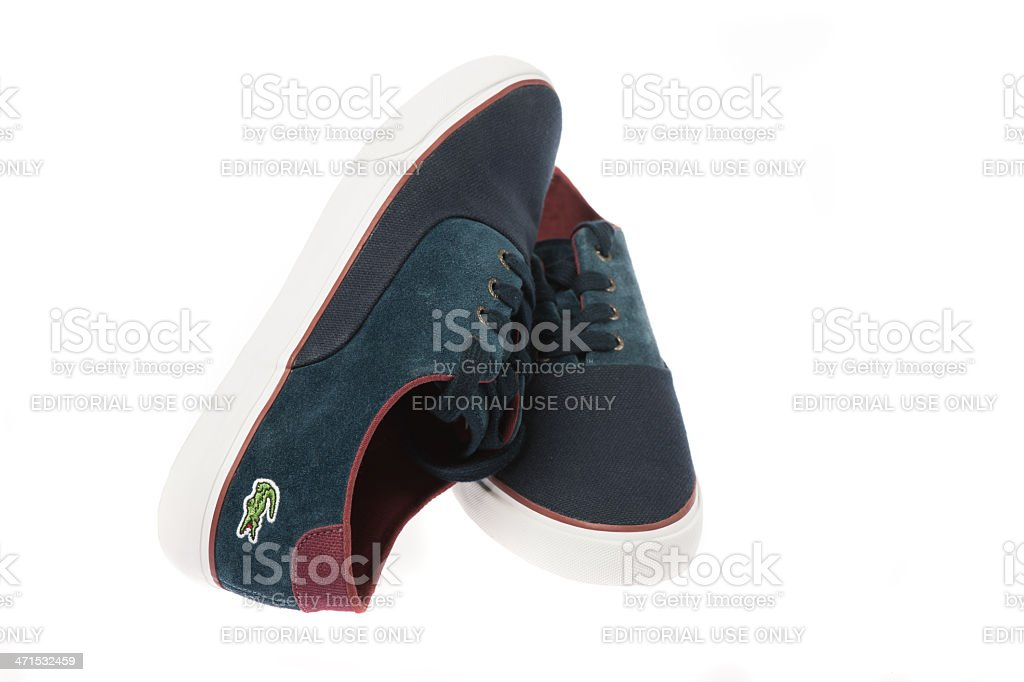 Lacoste Male Shoes stock photo