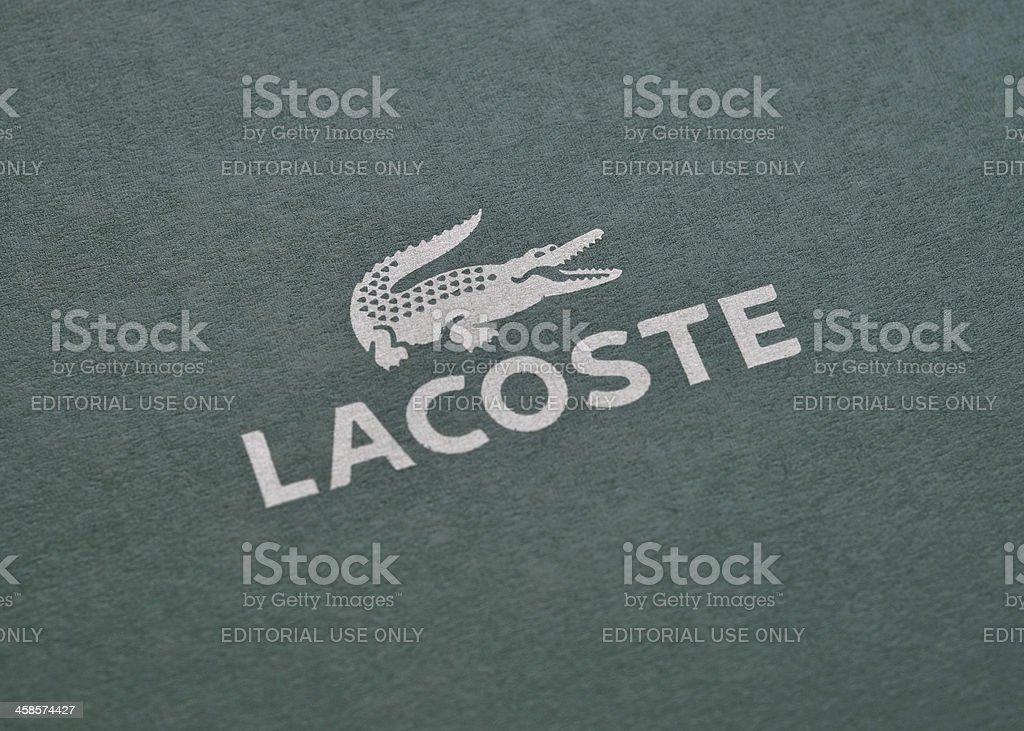 Lacoste stock photo