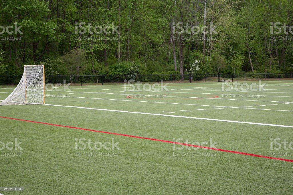 Lacross Field stock photo