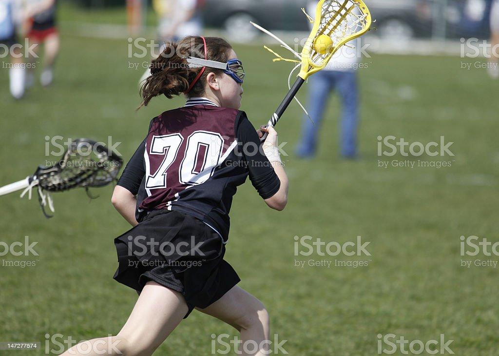 Lacrosse Cradle stock photo