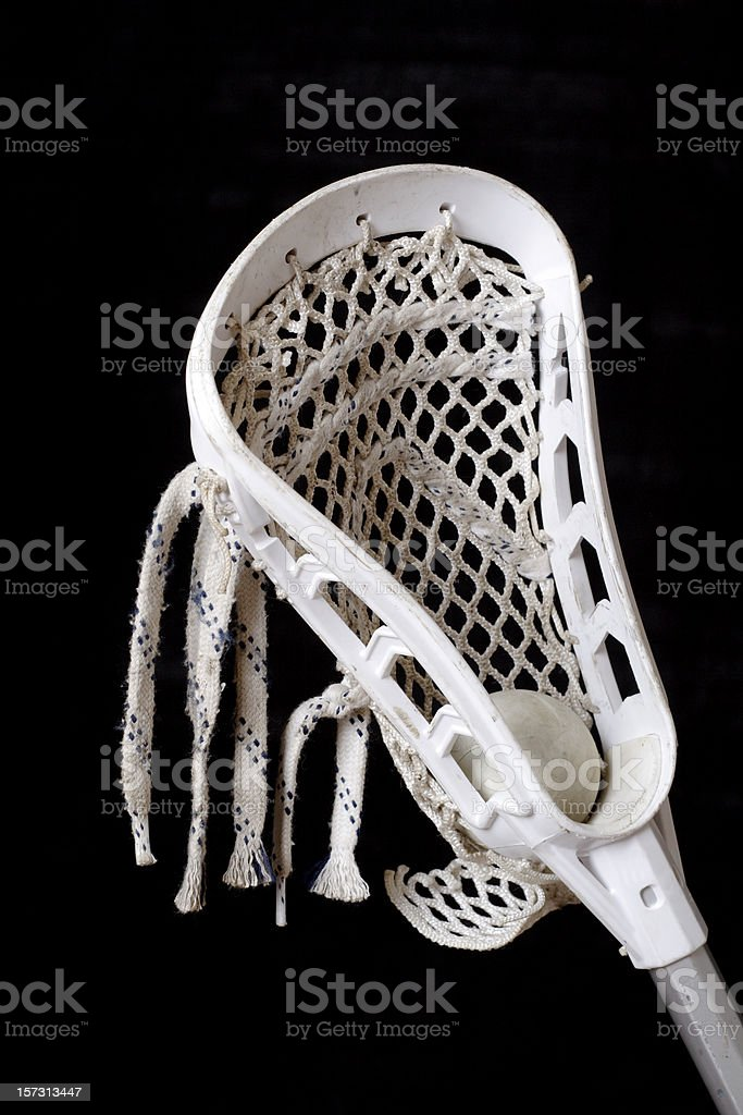 Lacrosse Equipment royalty-free stock photo