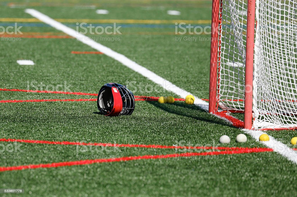 Lacrosse Goal stock photo