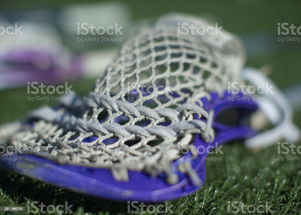 Lacrosse Stick Mesh stock photo
