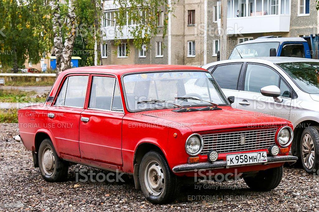 Lada 2101 stock photo
