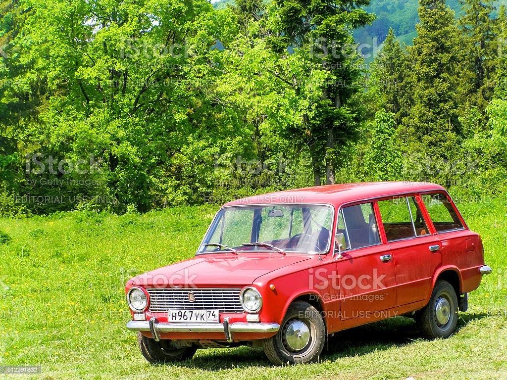 Lada 2102 Zhiguli stock photo