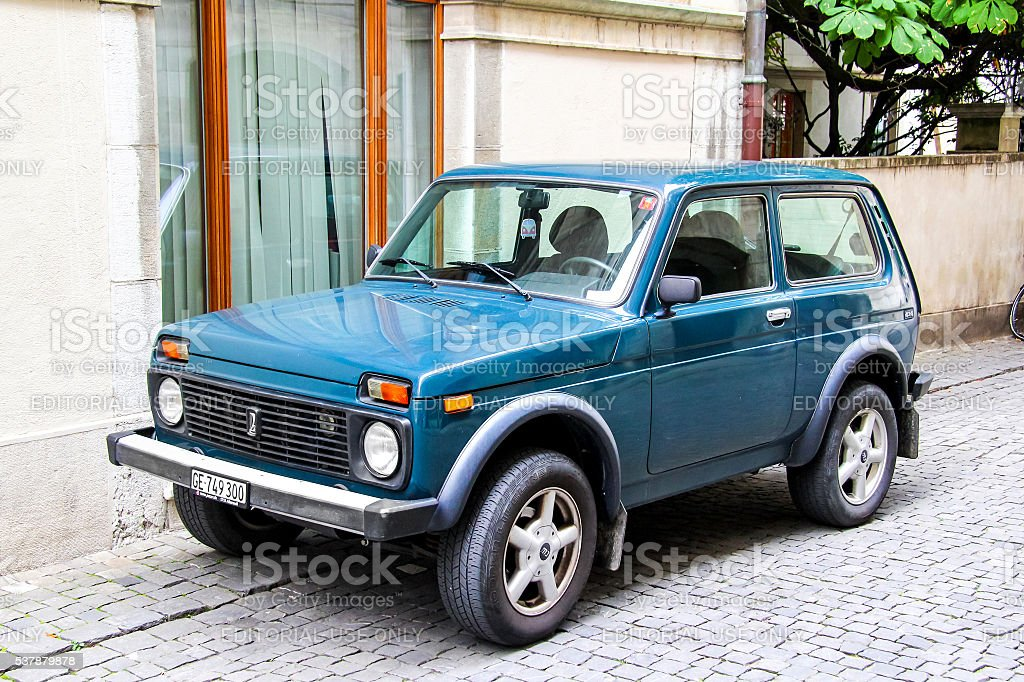 Lada 4x4 stock photo