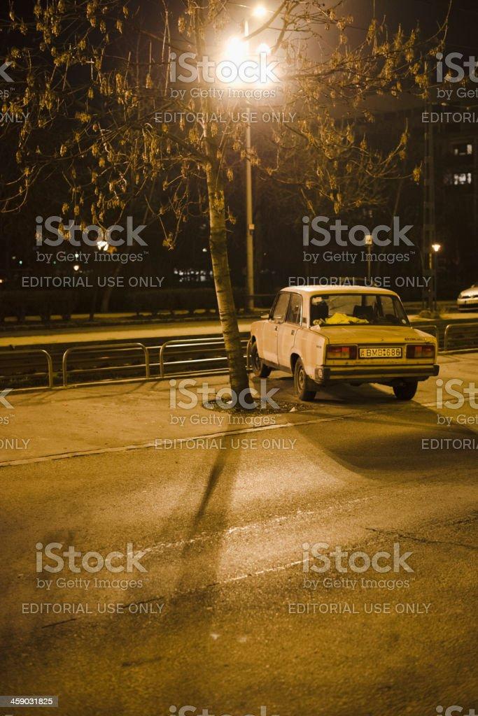 Lada Car royalty-free stock photo