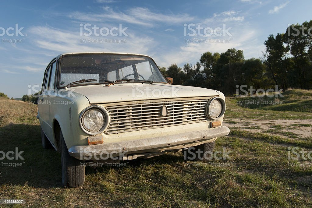Lada (Zhiguli) Estate Wagon stock photo
