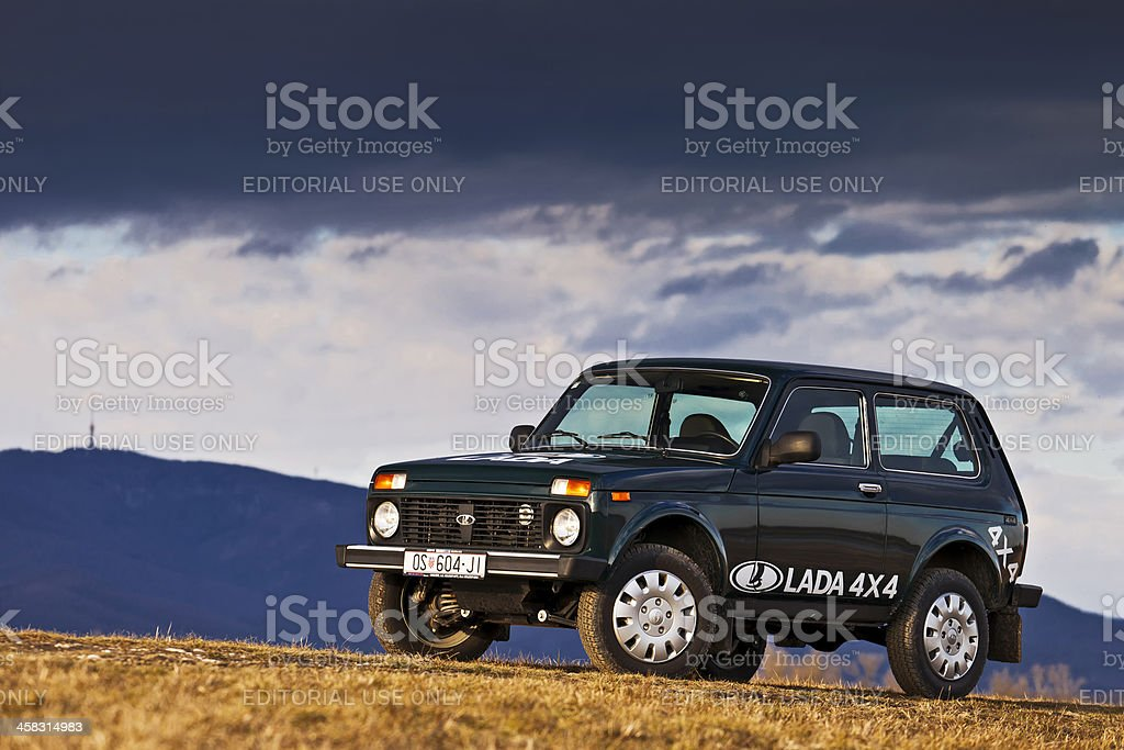Lada Niva royalty-free stock photo