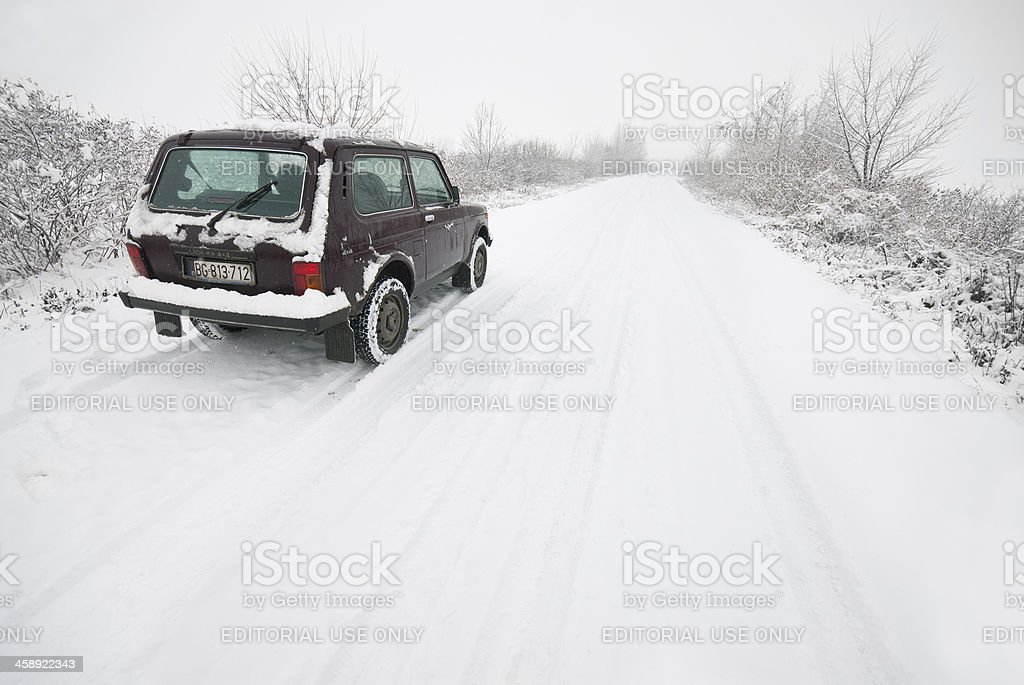 Lada Niva stock photo
