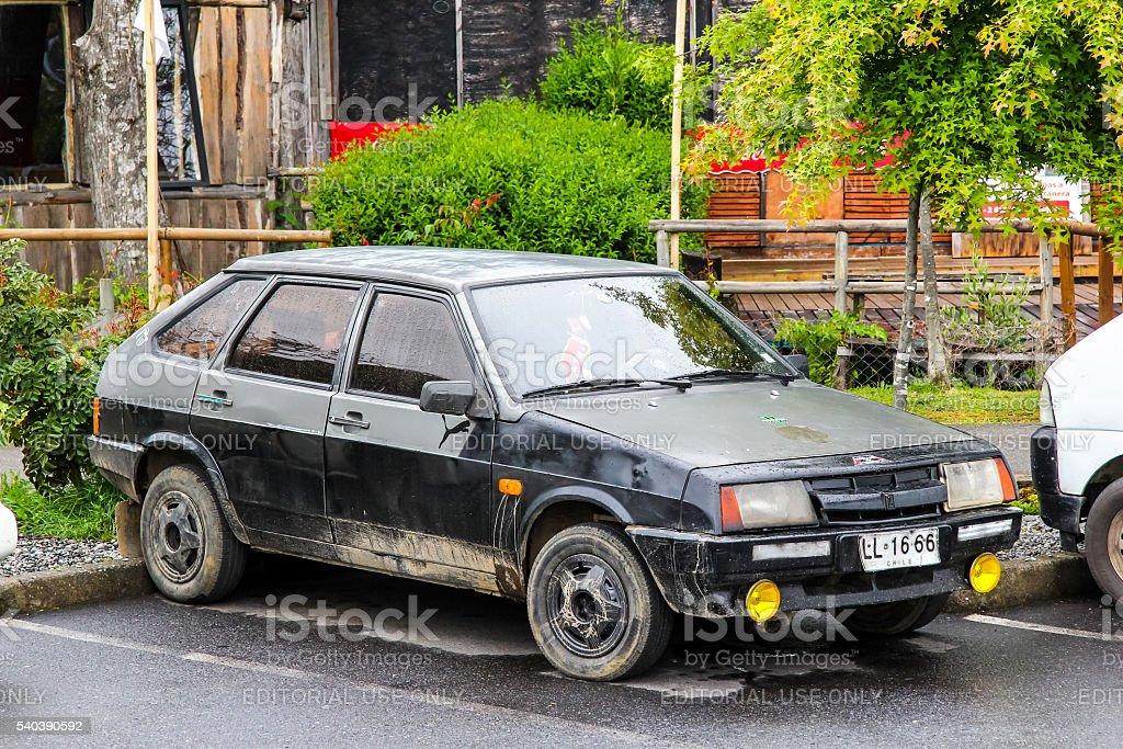 Lada Samara stock photo