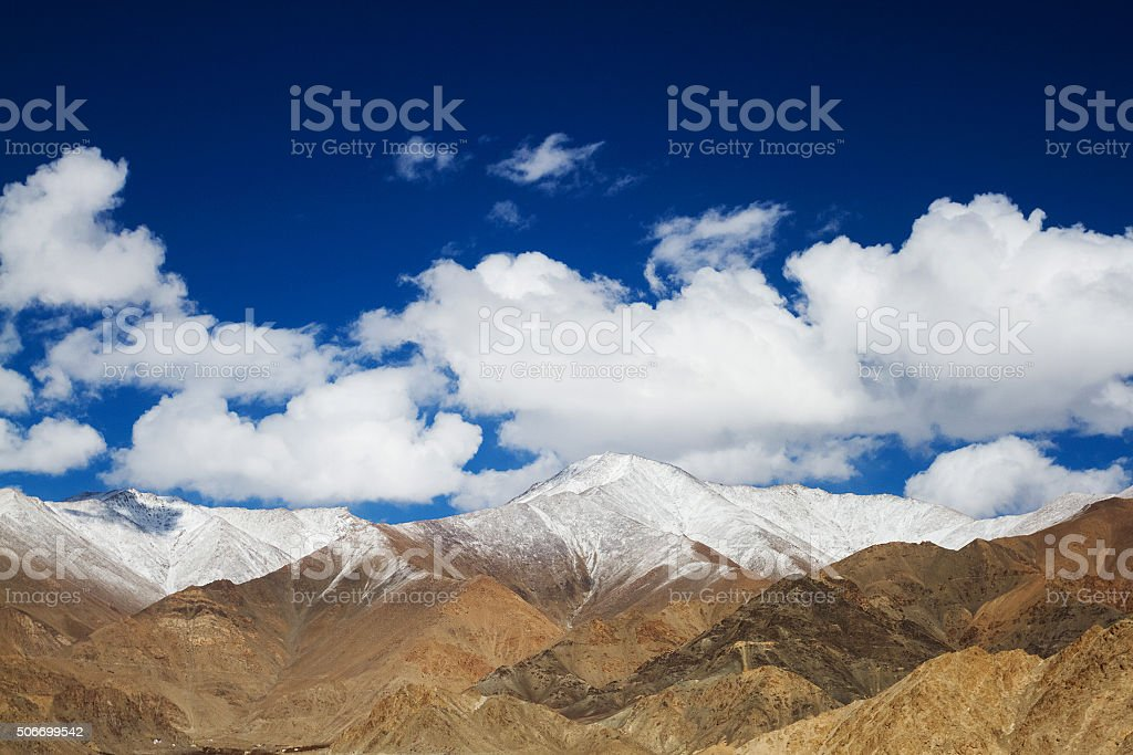Ladakh Horizon stock photo