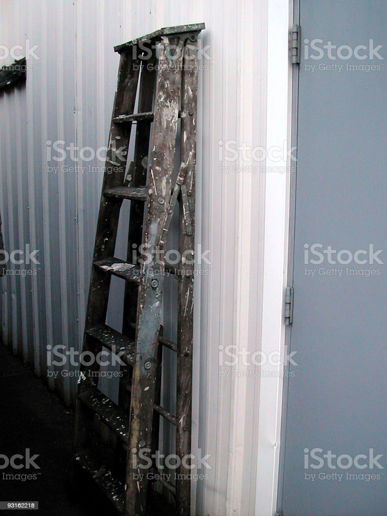 ladder 001 royalty-free stock photo