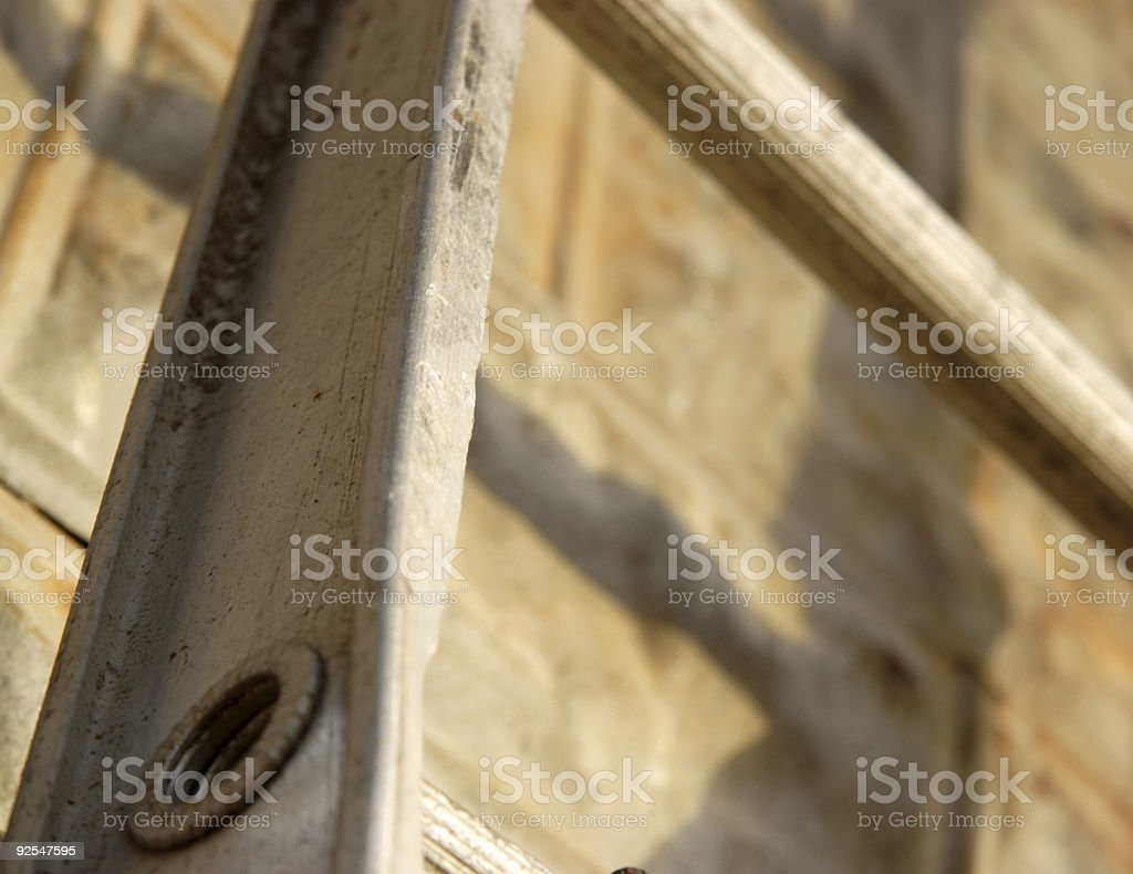 ladder abstract royalty-free stock photo