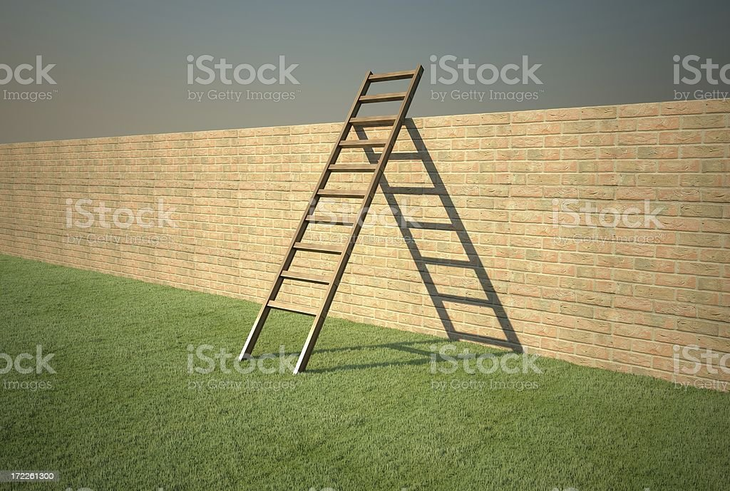 Ladder Concept [ l ] stock photo