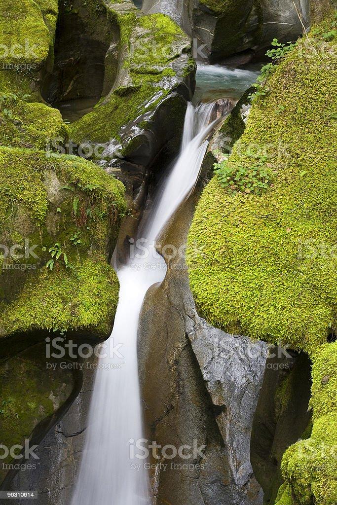 Ladder Creek Falls royalty-free stock photo