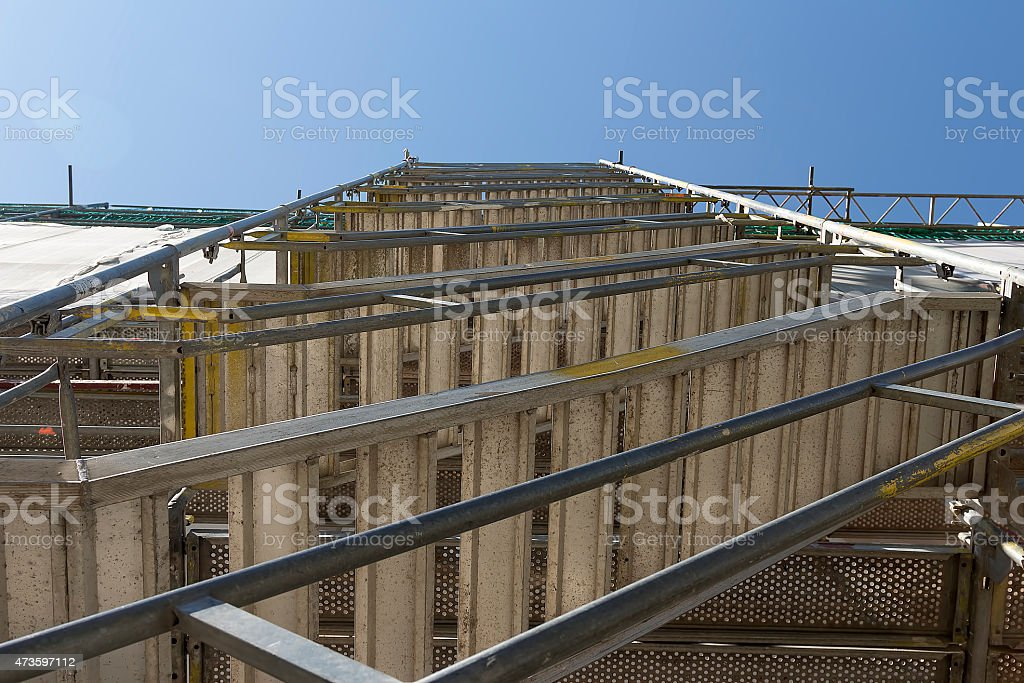 Ladder for construction royalty-free stock photo