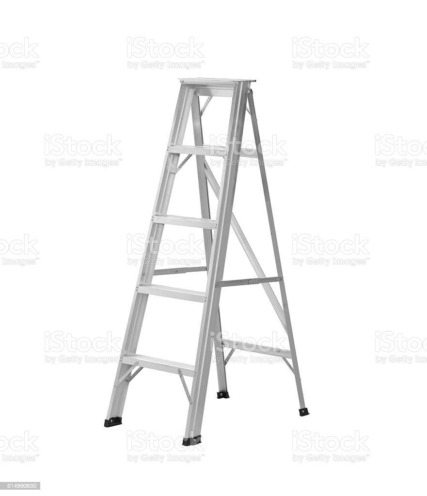 Ladder isolated stock photo