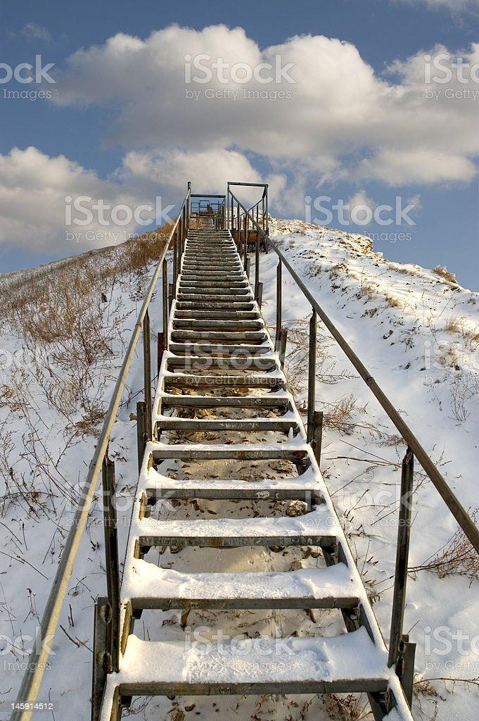 Ladder. royalty-free stock photo