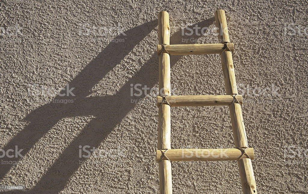Ladder stock photo
