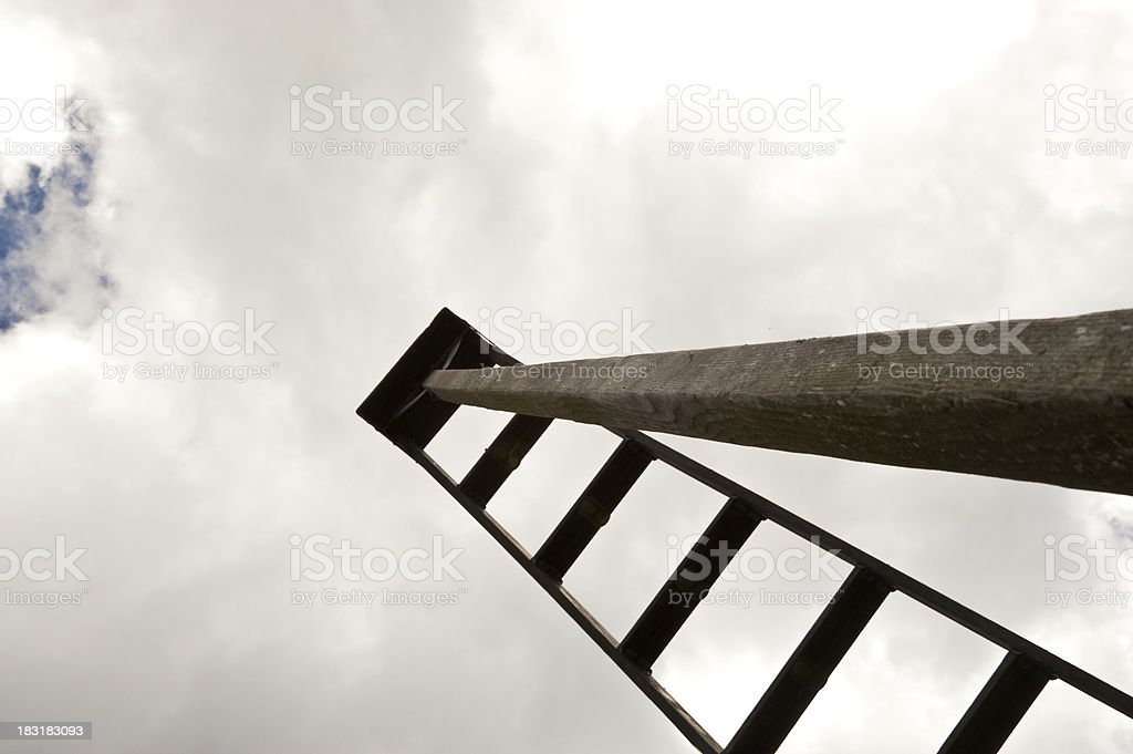 Ladder royalty-free stock photo