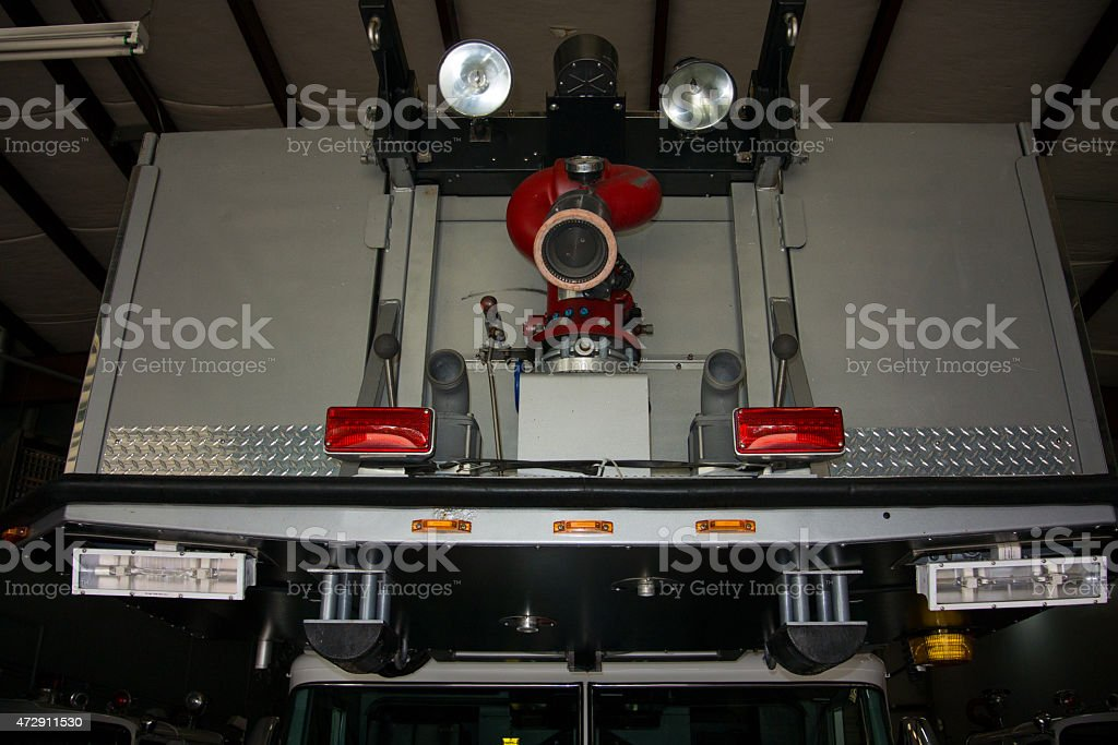 Scala camion bucket foto stock royalty-free