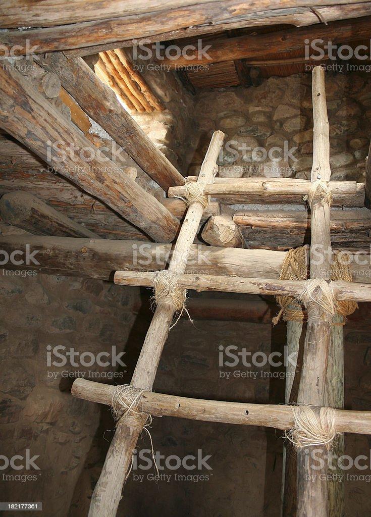Ladder Up stock photo