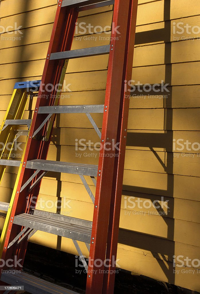 ladders royalty-free stock photo