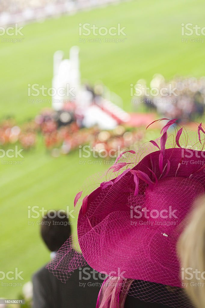 Ladies Day at the Racecourse royalty-free stock photo