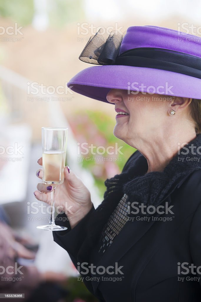 Ladies Day at the Races royalty-free stock photo