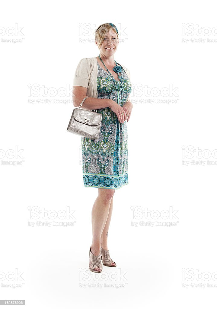 ladies day: smart and relaxed stock photo