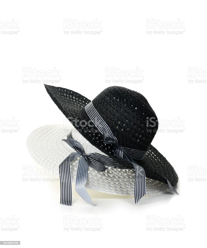 Ladies Dress Hats stock photo