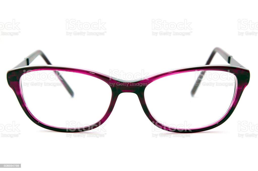 Ladies Eyesight Glasses stock photo