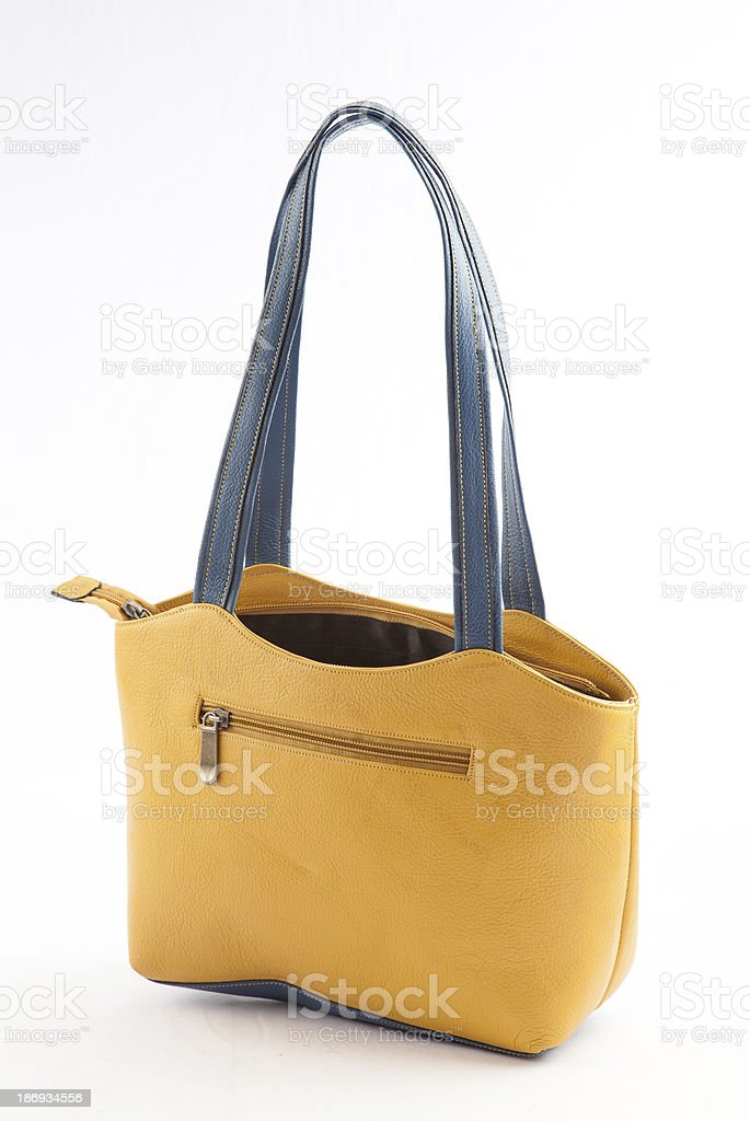 Ladies hand bag royalty-free stock photo
