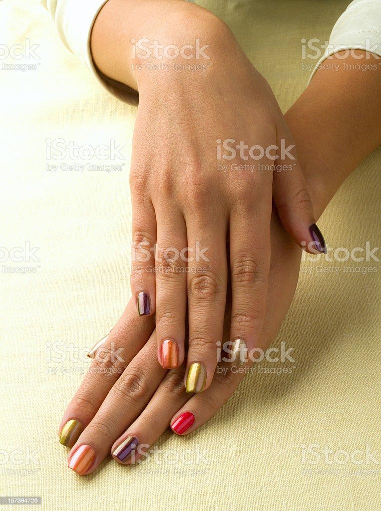 Ladie's hand stock photo