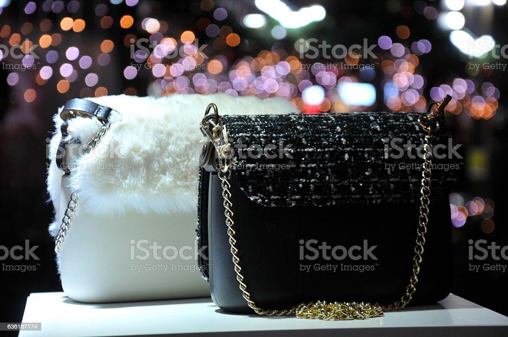 Ladies Handbag stock photo