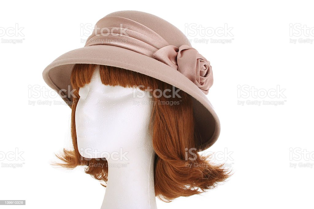 Ladies hat royalty-free stock photo