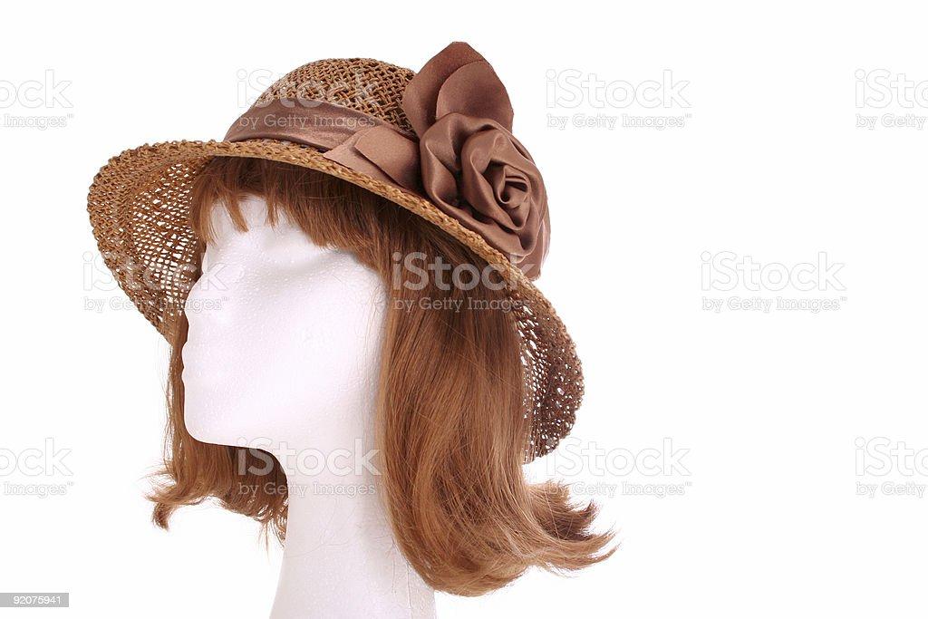 Ladies hat royalty-free stock photo