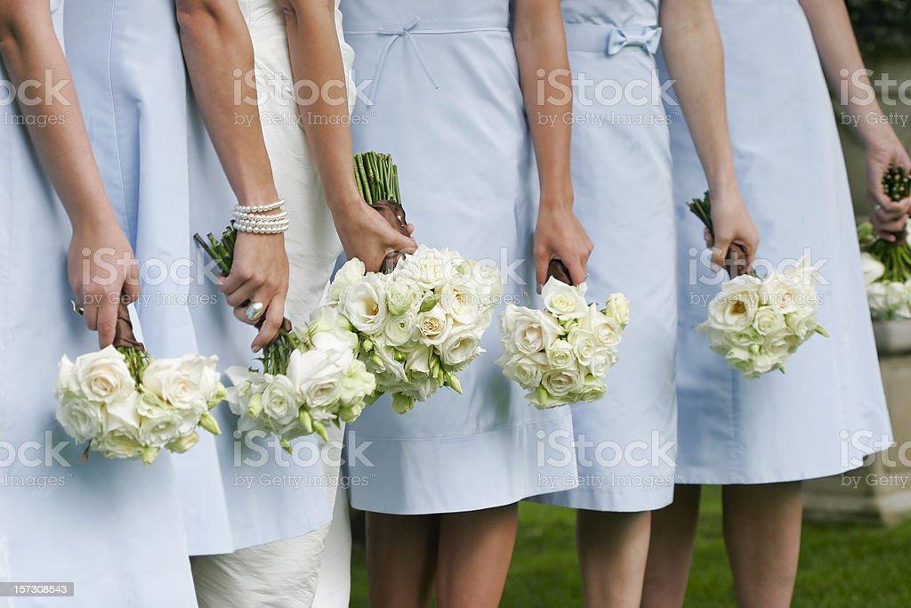 Ladies in Waiting stock photo