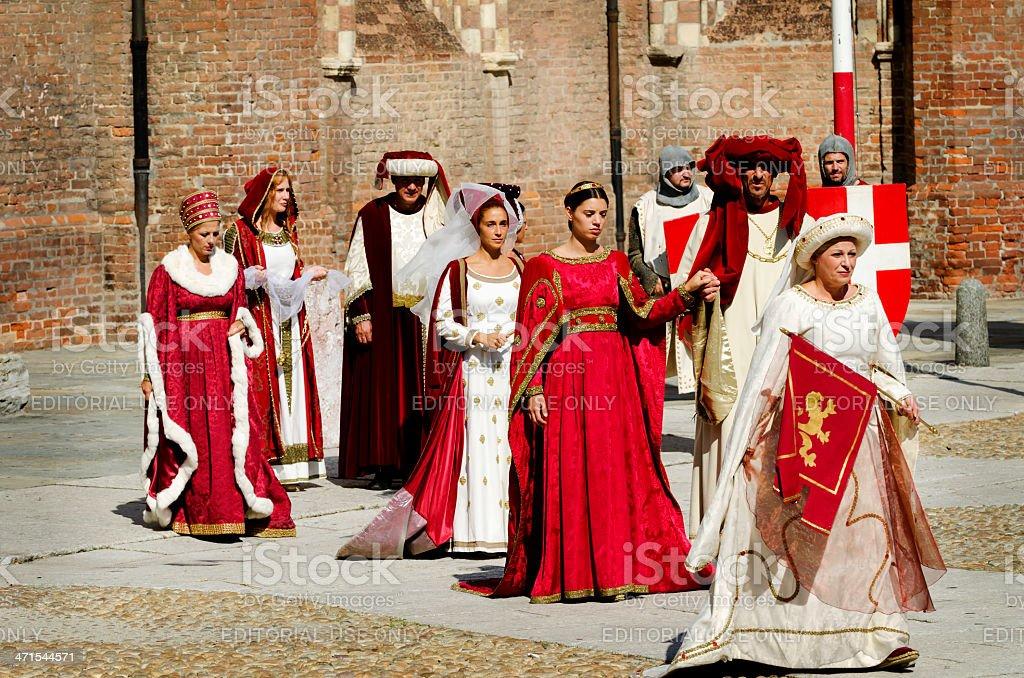 ladies Parade royalty-free stock photo