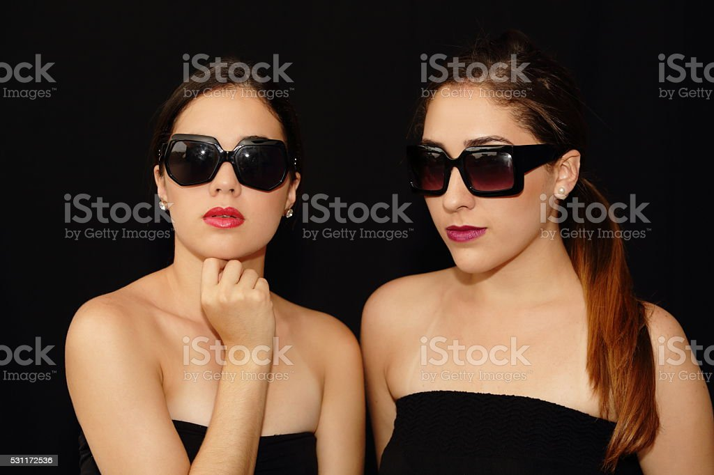Ladies Portrait Serious stock photo