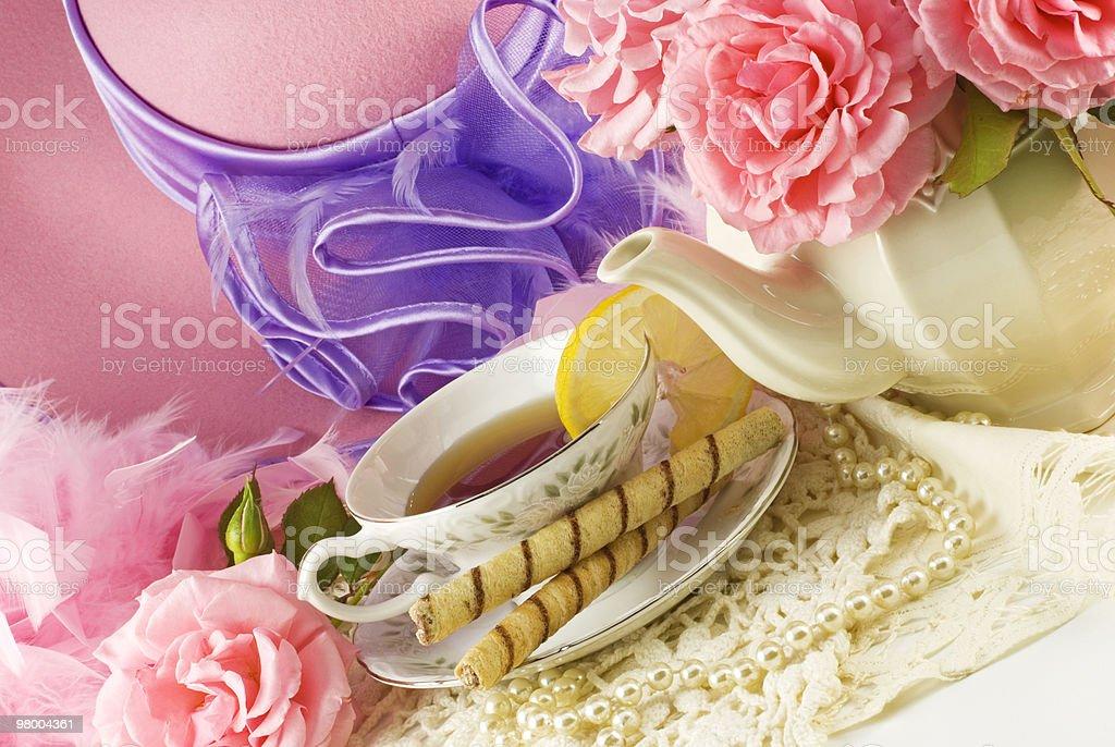 Ladies Tea Party royalty-free stock photo
