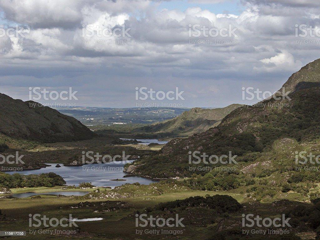 Ladies View in Killarney royalty-free stock photo